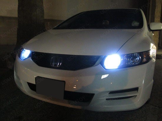 Honda - Civic - 9005 - LED - Bulb - 4